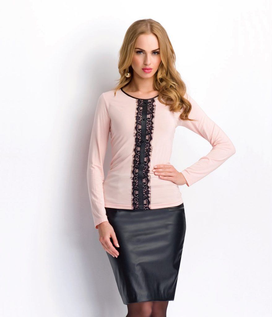 Модные Блузки Трикотажные