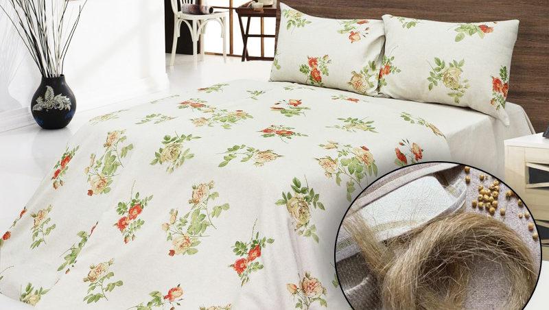 Комплекты постельного белья изо льна
