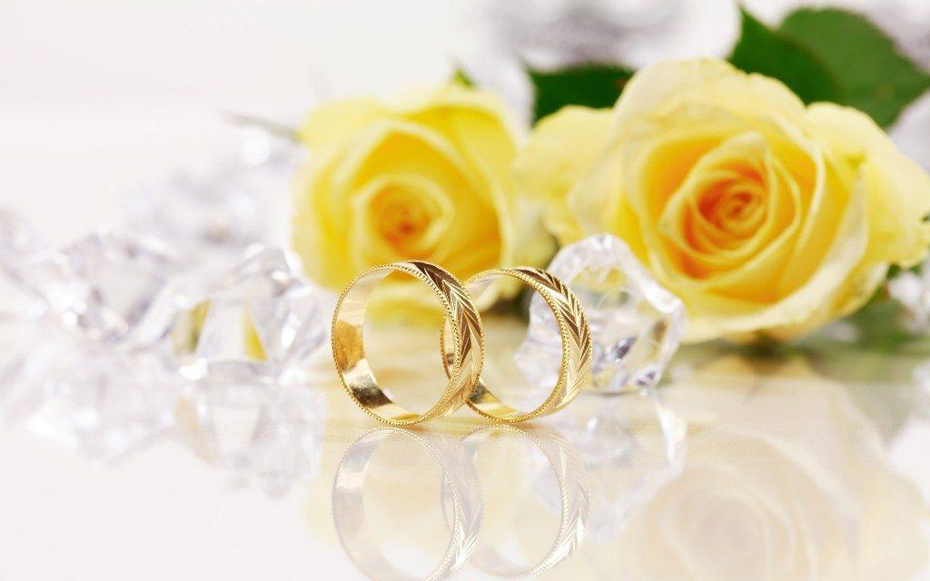 Любовь – главное богатство. Свадебные кольца