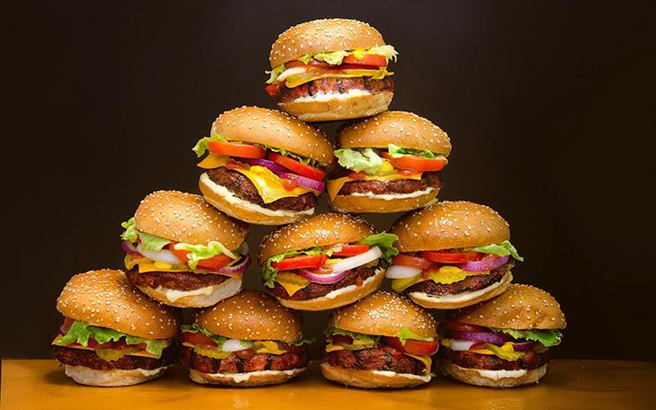 Основные разновидности бургеров