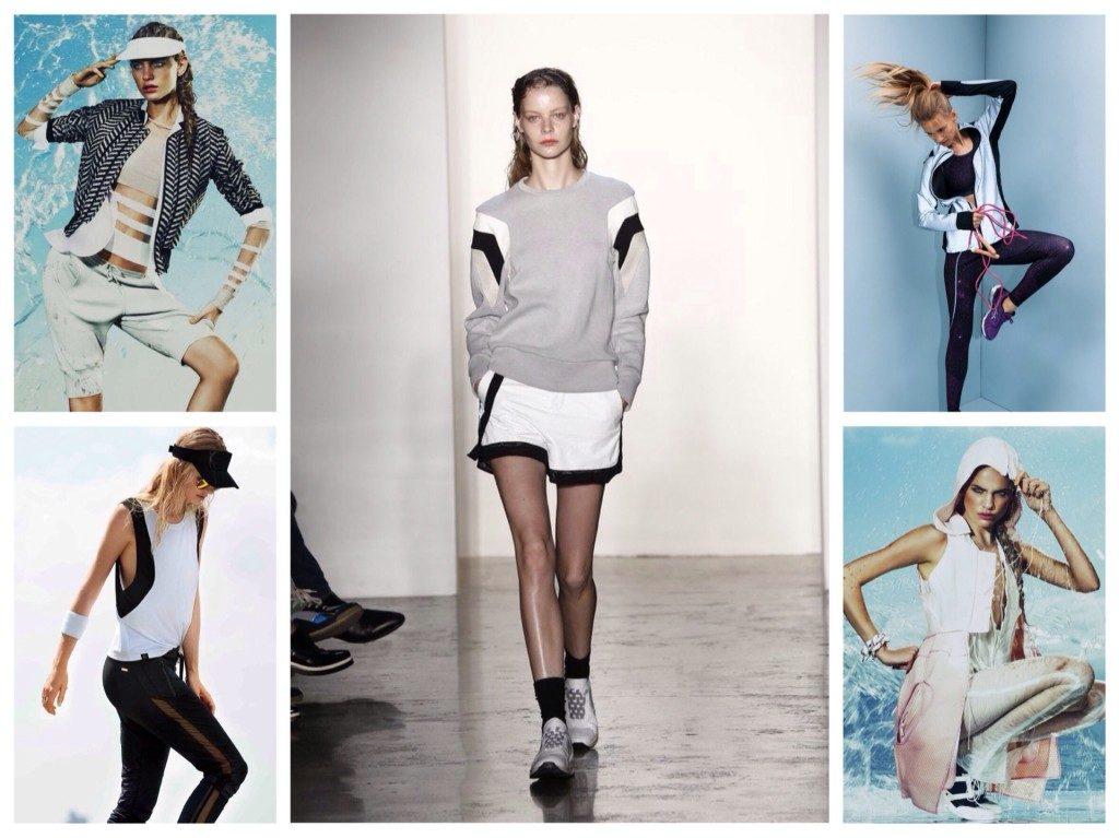 Спортивная одежда для женщин 2018 года