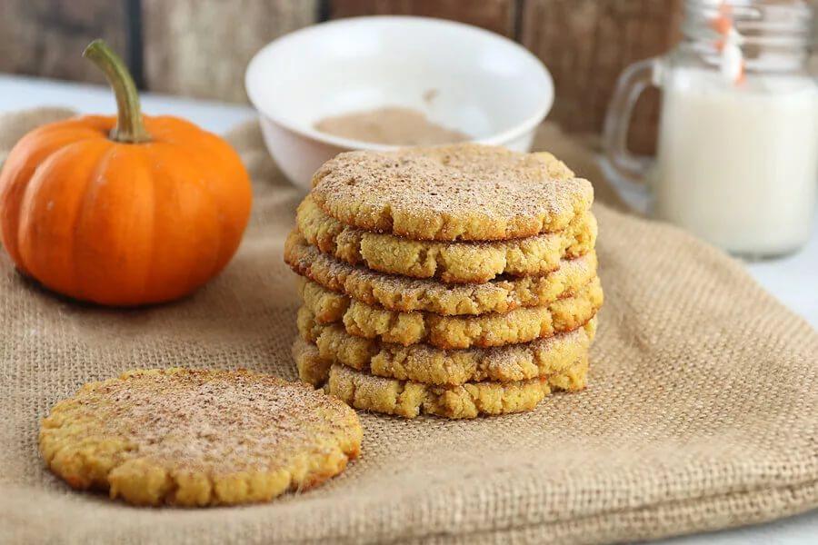 Печенье с пряностями и тыквой