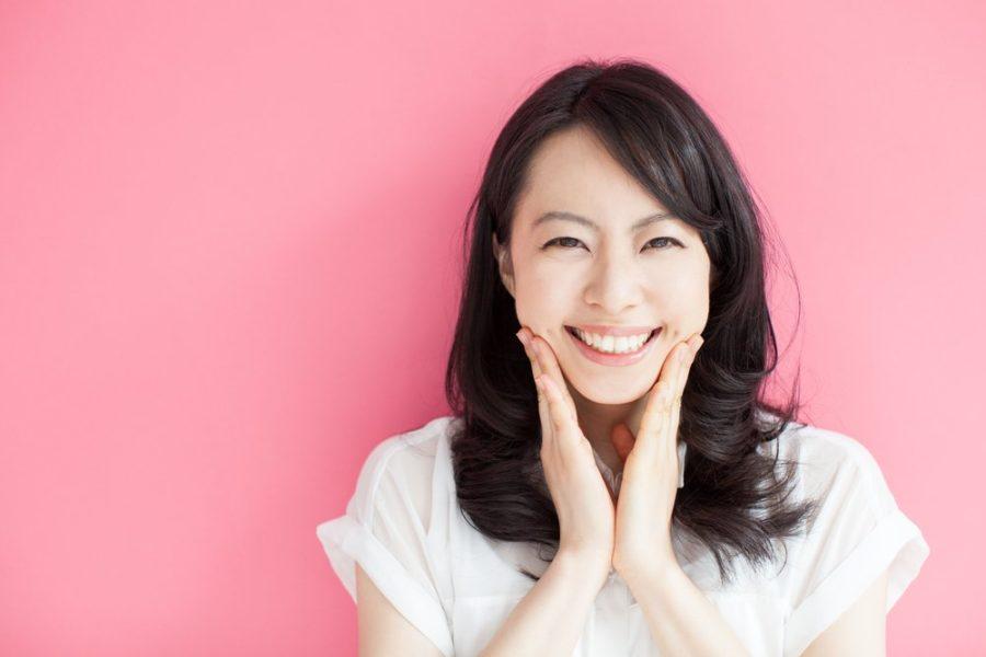 счастливая японка