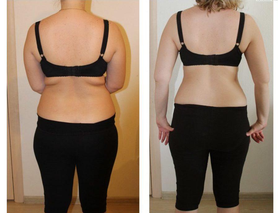 диета до и после