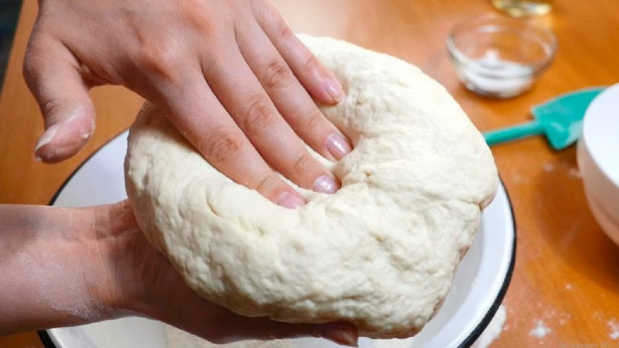 Быстрое тесто на кефире