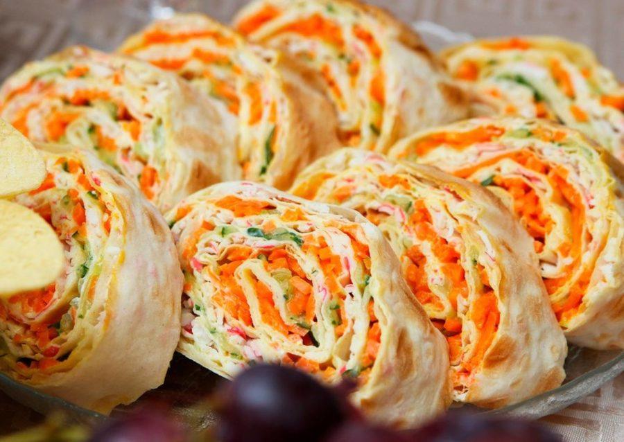 С острой морковью по-корейски