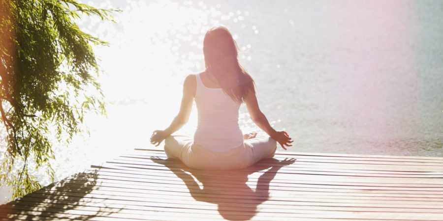 йога в тишине