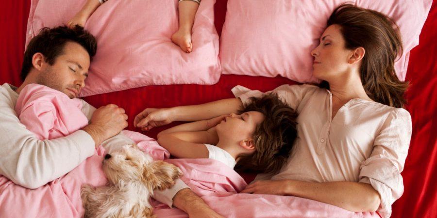 вся семья спит