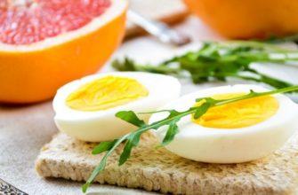 яйца диета магги
