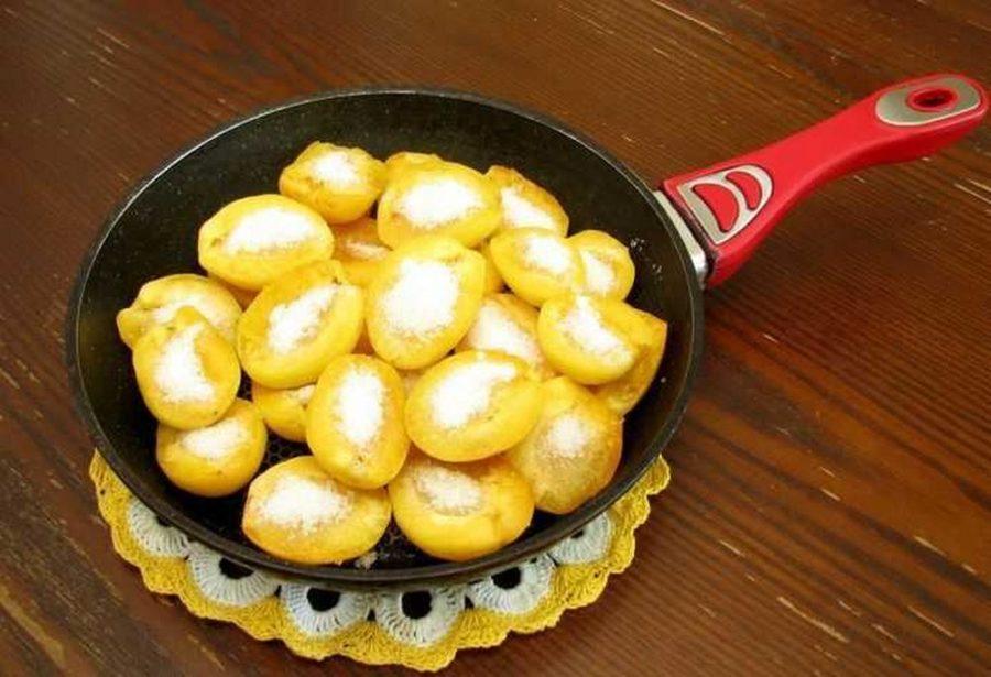 Варенье из абрикосов на сковороде