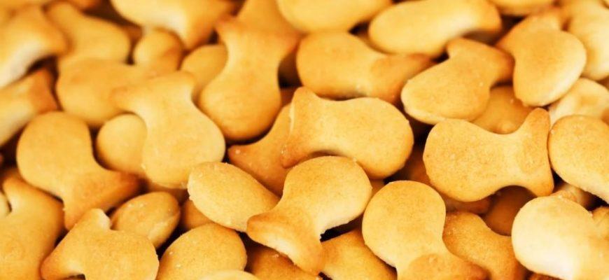 печенье рыбки