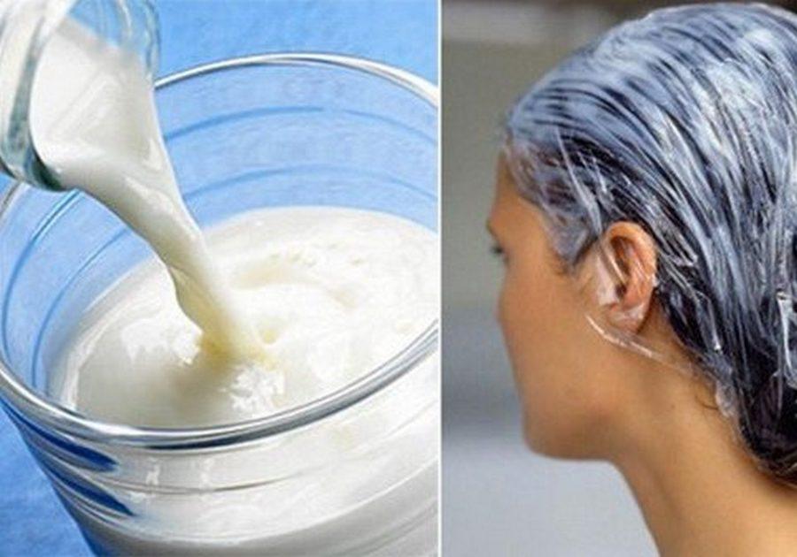 Йогурт против перхоти